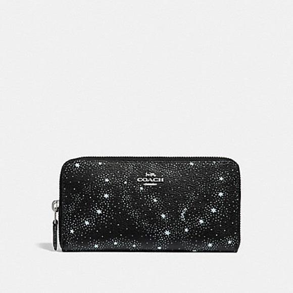 c6eda343366 Accordion Zip Wallet With Celestial Print